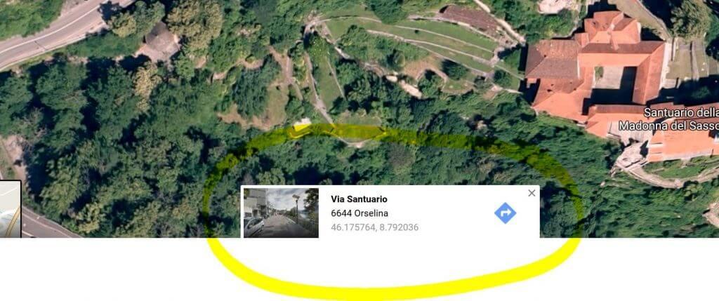 Streetview-Fenster in der Google-Suche