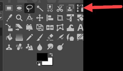 GIMP Pfadwerkzeug aktivieren