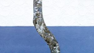 Fassadenausschnitt mit Baumstamm in Sulzberg A