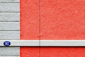 Fassadendetail an der Felsenstrasse St Gallen