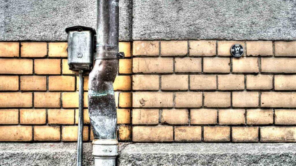 Fassadendetail an der Lustgartenstrasse in St Gallen