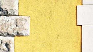 Fassadendetail in der Altstadt von Ilanz GR