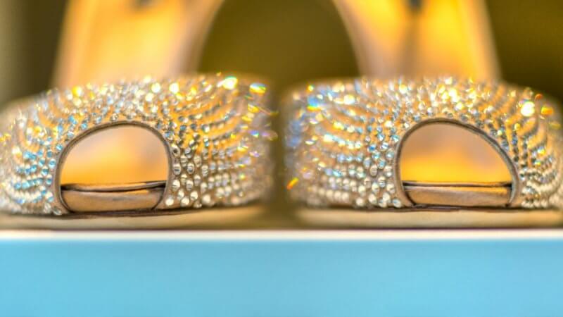 Schaufenstermotive - exklusive Damenschuhe