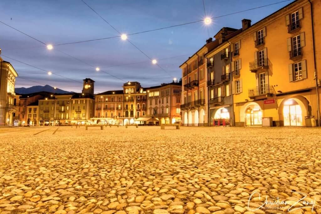 Locarno Piazza Grande Fotolocation