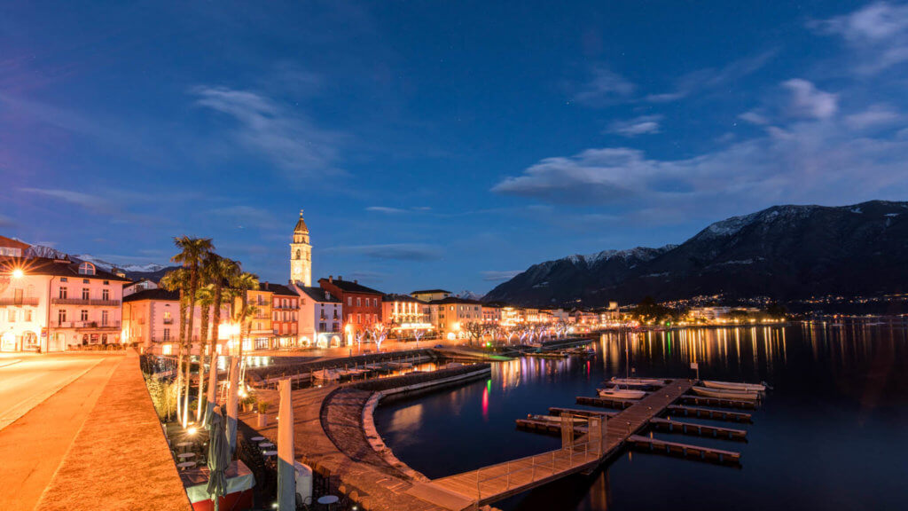 Bulb Einstellung - Ascona by Night