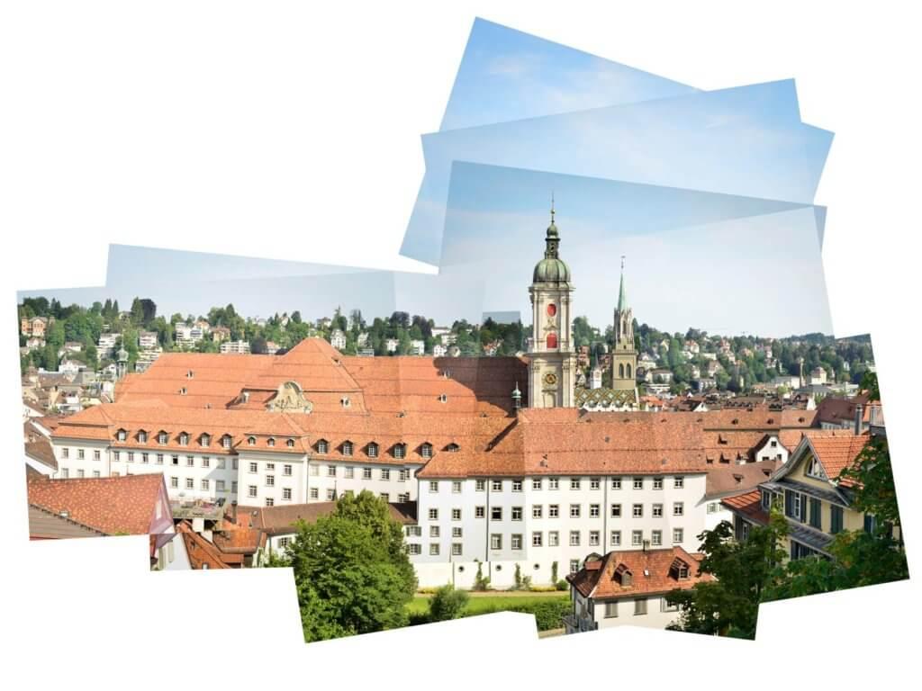 Kathedrale und Laurenzen-Kirche Panografie