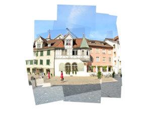 Panografie Altstadt St Gallen ohne Vignette