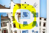 panografie in GIMP zusammenstellen Ebene drehen
