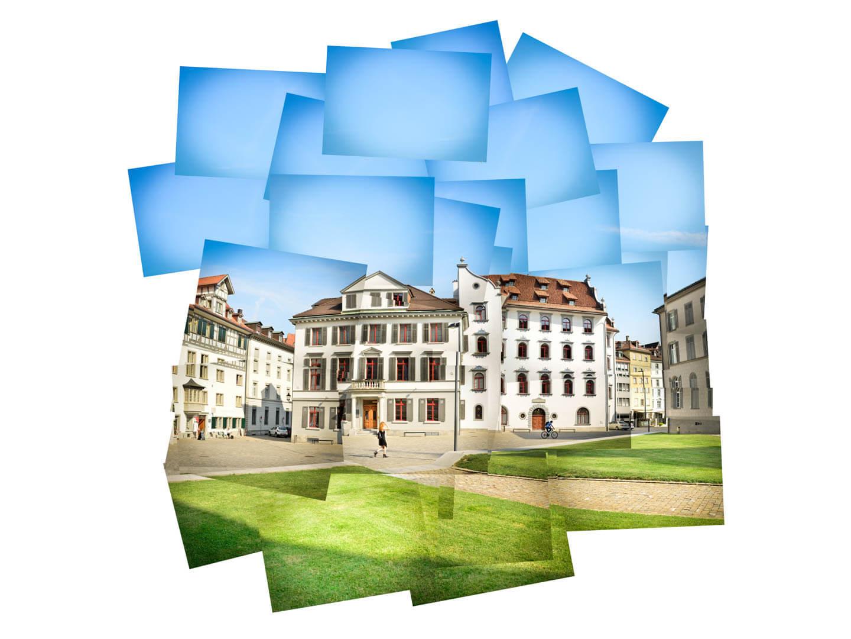 Panografie in GIMP aus 35 Einzelbildern