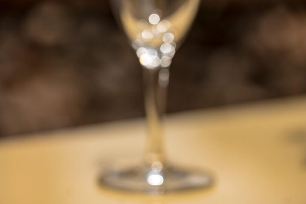 Alles unscharf fotografieren - Glas