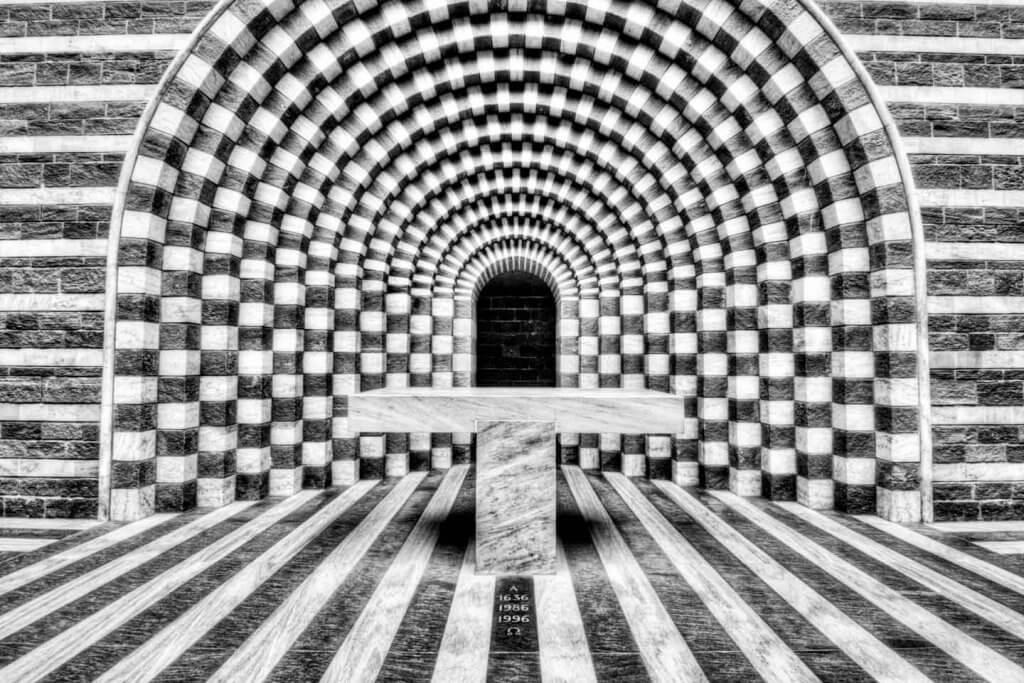 Ultra Weitwinkel Objektiv kaufen - Kirche Mario Botta