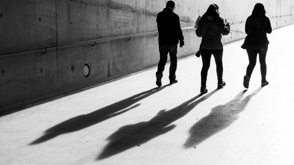 Licht und Schatten fotografieren - Streetfotografie