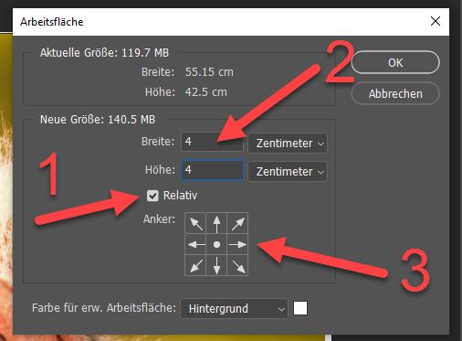 Rahmen in Photoshop erstellen