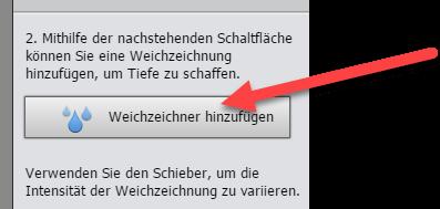 Tilt-Shift-Effekt in Photoshop Elements Weichzeichner