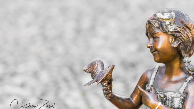 Kleiner Vogel flieg
