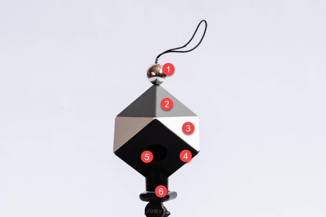 SkyperCuber Farbwerte und Belichtung optimal korrigieren