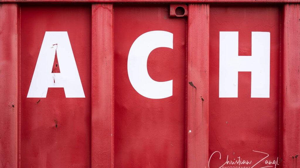 ACH Containerbeschriftung