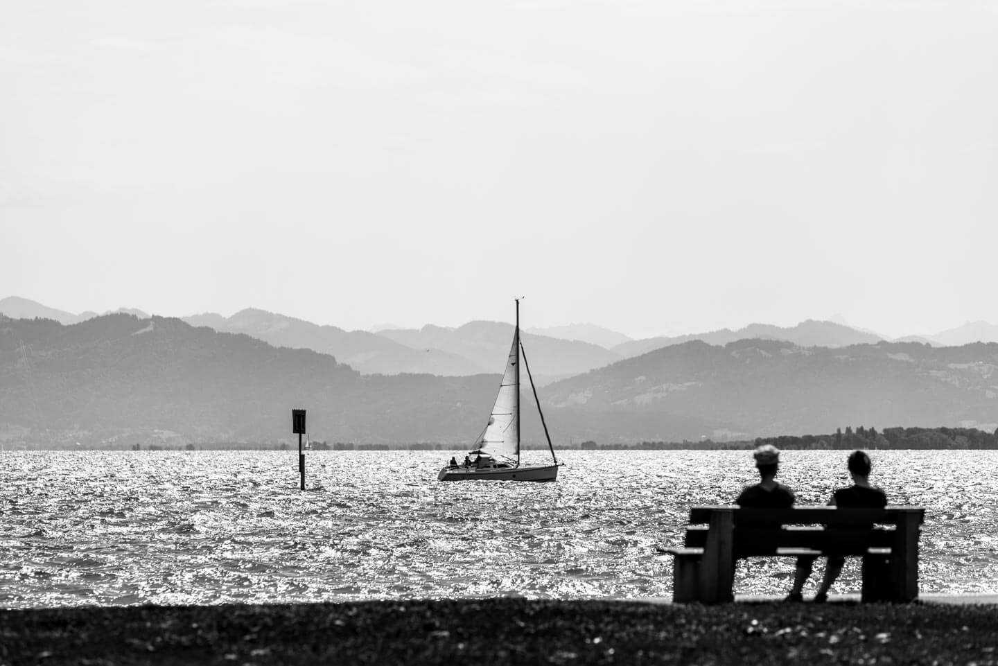 Sommertag am Bodensee
